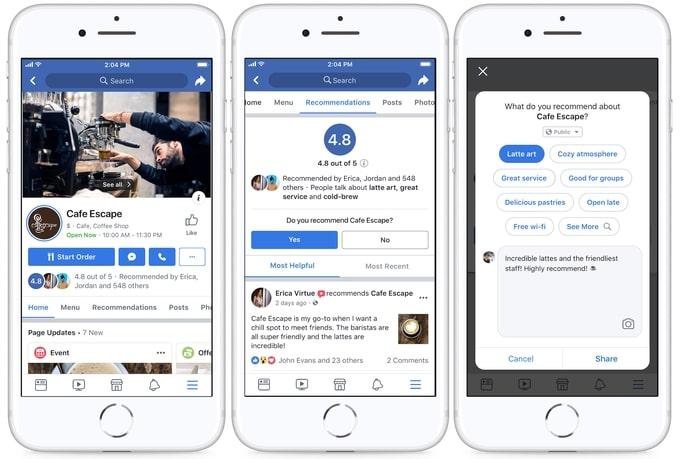 Facebook updates 2019