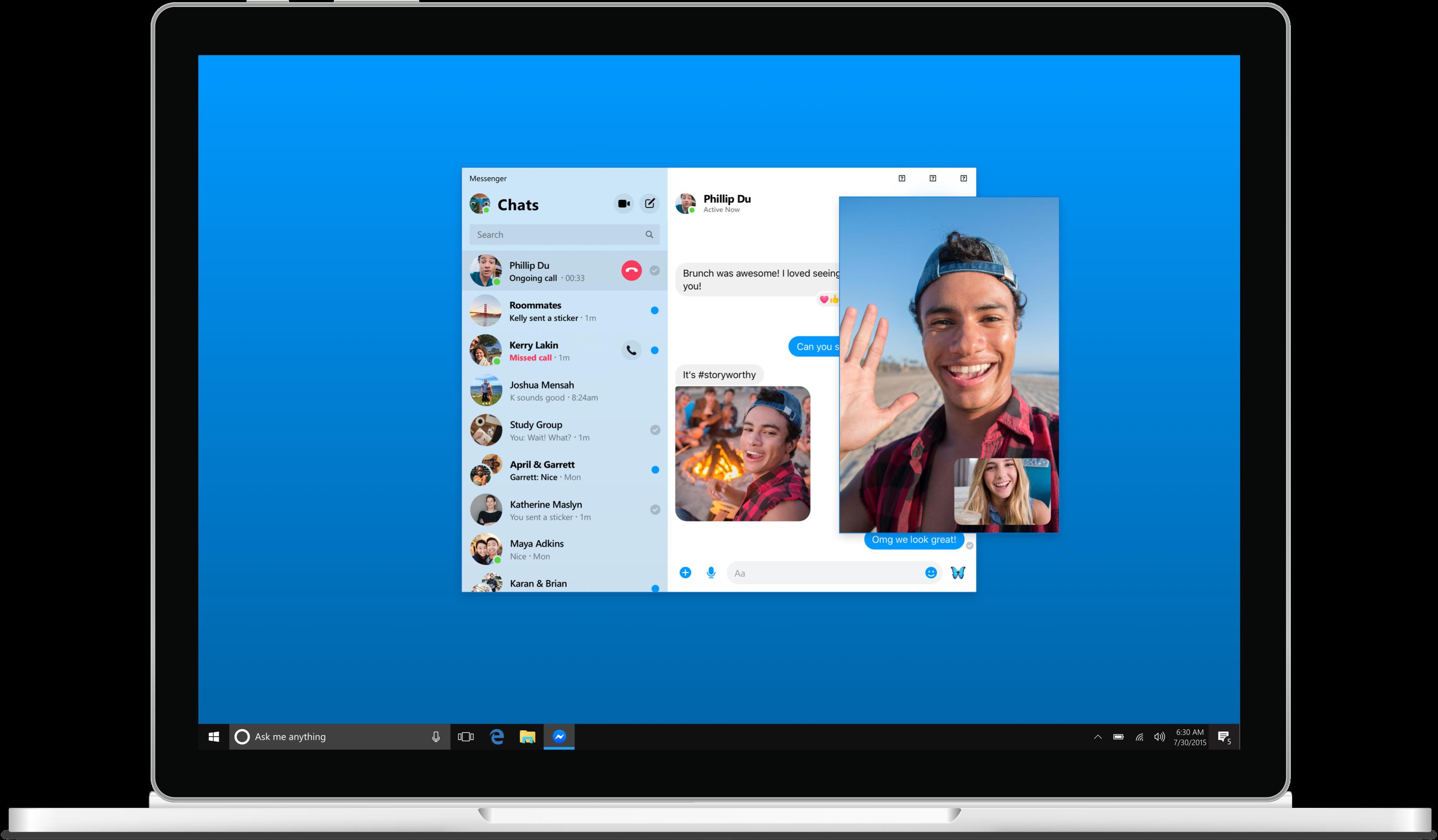 Messenger_Desktop_App_call