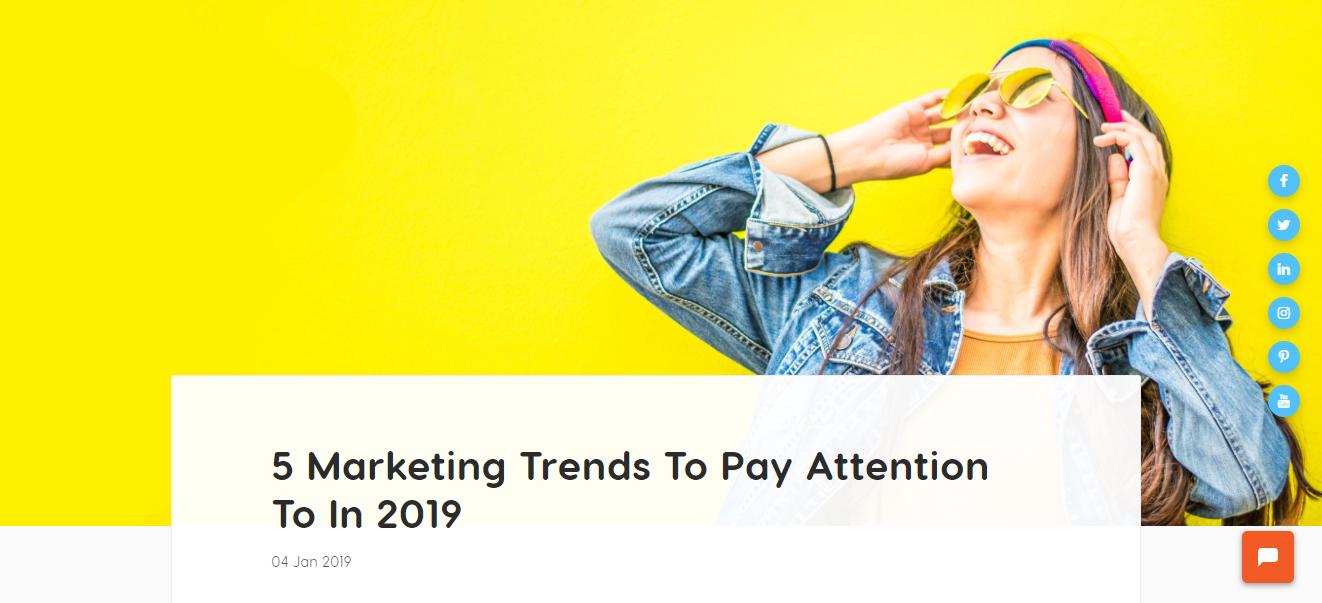 5marketing trends blog