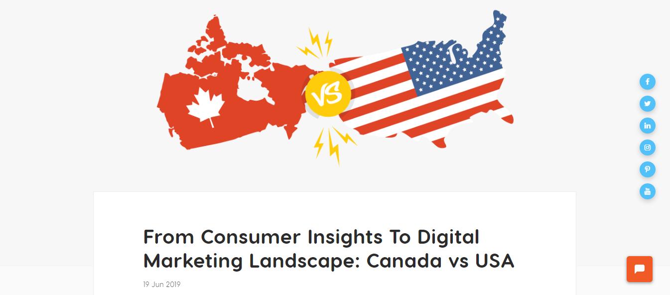 Canada vs US market