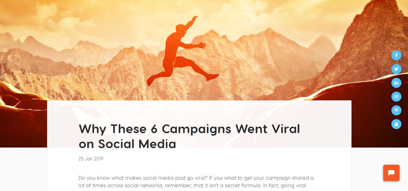 viral campaigns blog