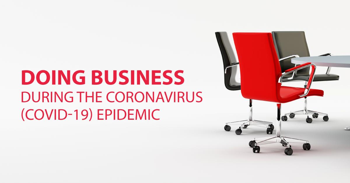 Businesses during Coronvirus